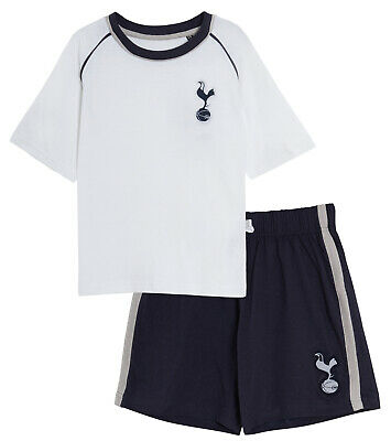 Kids Tottenham Hotspur Short Pyjamas Boy Premiership Football Kit Shorts T-shirt • 8.95£