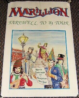 £40 • Buy Marillion Superb Rare 'farewell To 83' U.k. Tour Programme And Fold Out Poster