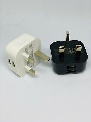 £3.61 • Buy UK Mains Wall 3 Pin Plug Adaptor Charger Power 4 USB Ports For Phones Tablets CE