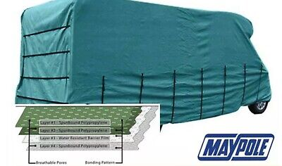 Maypole Premier Motorhome Cover - 6.1m To 6.5m – 4 Ply Breathable & Waterproof. • 75£