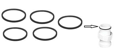 £5.49 • Buy Mcalpine 1-1/4  32mm Sink Basin Waste To Trap Seal Rubber Washer Only (pack 5)