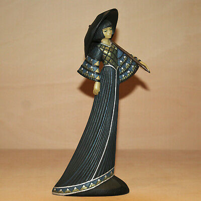 Parastone Enesco Figurine, Tranquility Oriental Princess, Lady Figure Ornament • 49.99£