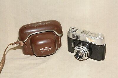 $ CDN30 • Buy VOIGHTLANDER VITORET D 35mm POINT AND SHOOT CAMERA WITH CASE