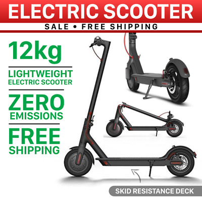 AU459 • Buy 300W Portable Electric Scooter Foldable Adult/Kids Light Compact Commuter Bike