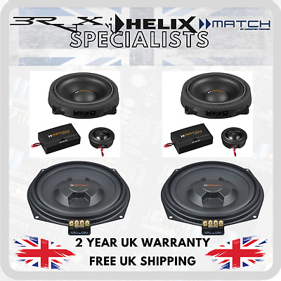 Match By Audiotec Fischer Stage 1 Speaker Upgrade Package For BMW 1 Series F20 • 375£