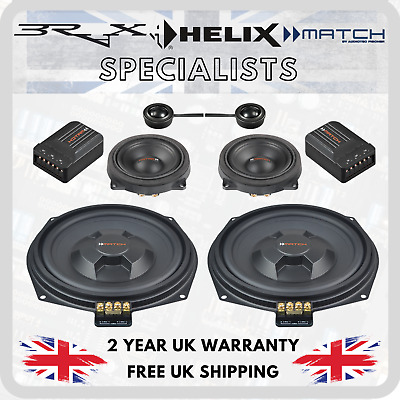 Match By Audiotec Fischer Stage 1 Speaker Upgrade Package For BMW 1 Series E82 • 344.95£