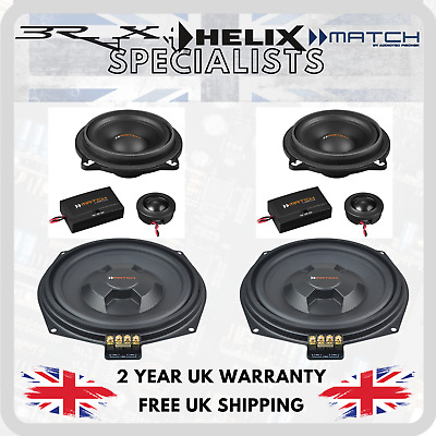 Match By Audiotec Fischer Stage 1 Speaker Upgrade Package For BMW 3 Series E92 • 374.99£