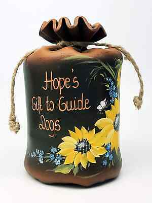 Large Personalised Ceramic Pot Of Dreams / Money Box, Break To Open, Any Text!!! • 21.99£