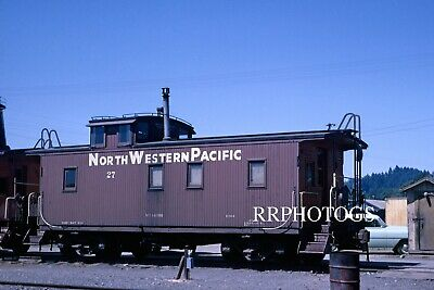 $9.95 • Buy Rr Print Northwestern Pacific Nwp Wooden Caboose #27