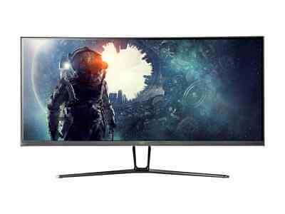 AU425 • Buy Monoprice 35in Zero-G Curved Ultrawide Gaming Monitor UWQHD 3440x1440p 100Hz VA