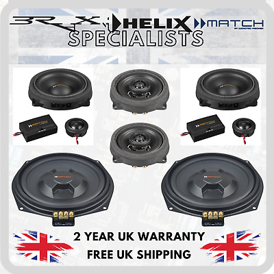 Match By Audiotec Fischer Stage 2 Speaker Upgrade Package For BMW 1 Series F20 • 465£