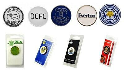 £4.99 • Buy Golf Ball Marker Football Club Double Sided Official Licensed Spurs Chelsea