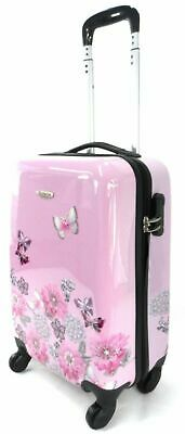 £29.99 • Buy Lightweight Hard Shell Travel Carry On Cabin Hand Luggage Suitcase Trolley Bag G