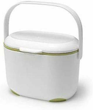 Mini Food Waste Bin Addis 2.5L Kitchen Indoor Compost Caddy Small Removable Lid • 9.45£