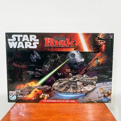 $28.79 • Buy Star Wars Hasbro Risk Board Game The Reimagined Galactic Risk New Sealed 2014