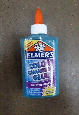 AU49.50 • Buy 2 X Elmer's Color Changing Glue 147mL EA - BLUE TO PURPLE - Elmers - NEW