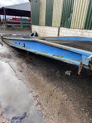 Yard Container Lorry Loading / Unloading HYDRAULIC Ramp 7 Tonnes • 2,500£