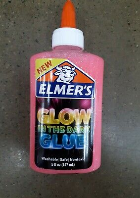 AU49.50 • Buy 2 X Elmer's Glow In The Dark Glue 147mL EA - PINK - Elmers - NEW