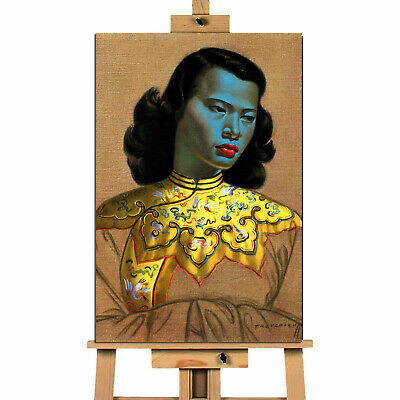 Green Lady  Vladimir Tretchikoff Landscape Canvas Wall Art Print • 11.04£