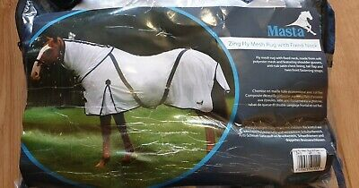 Masta Zing Fly Mesh Rug With Fixed Neck Size 5'3  RRP £34 **Read Description** • 18£