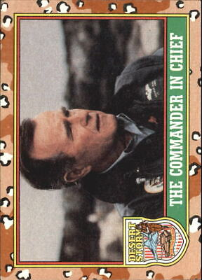$0.99 • Buy 1991 Desert Storm Topps #s 1-264 +Stickers (A1158) - You Pick - 10+ FREE SHIP