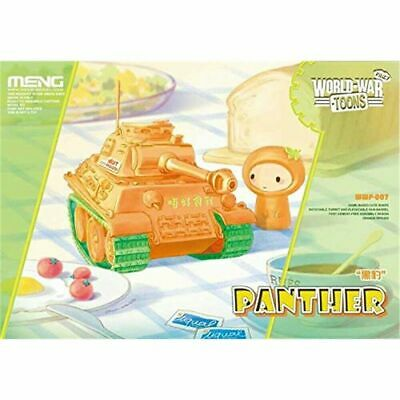Meng Model WWP-007s World War Toons Panther Egg Tank With Resin Cartoon Figure • 11.99£