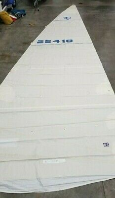 $495 • Buy Dacron Main Sail By UK For Tartan 4100 In Good Condition 49.4' Luff