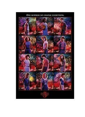 AU12.99 • Buy Stranger Things Character Montage Rolled Poster Print Wall Hanging Slot #14