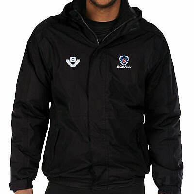£55.99 • Buy Scania & V8 Logo Embroidered Fleece Lined Waterproof Jacket Work Outdoor Sport