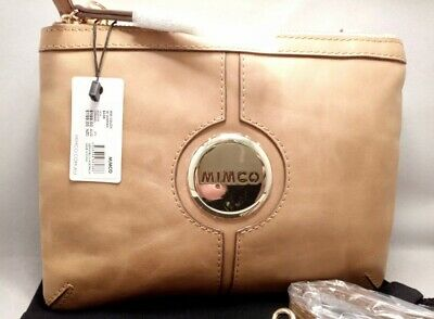 AU124.88 • Buy BNWT MIMCO MIM Couch Crossbody HIP Bag CARAMEL Gold RRP $199 Free Postage