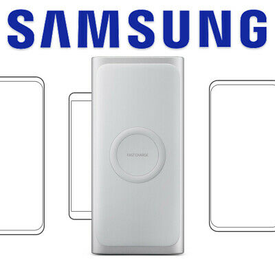 AU69.95 • Buy GENUINE Samsung Fast Qi Wireless Battery Pack Charger Power Bank 10000 MAH