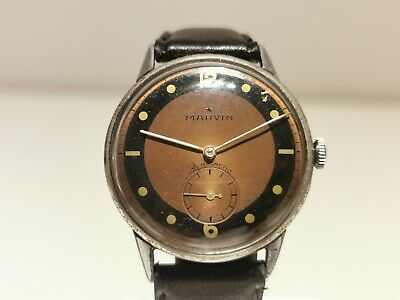 £269.04 • Buy Vintage Ww2 Military Rare Collectible Sub Second Men's Swiss Watch  Marvin  15j.