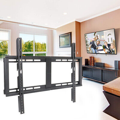 $14.96 • Buy Fixed Position TV Wall Mount Bracket TV Stand Slim Hanger Universal For 32-65 In