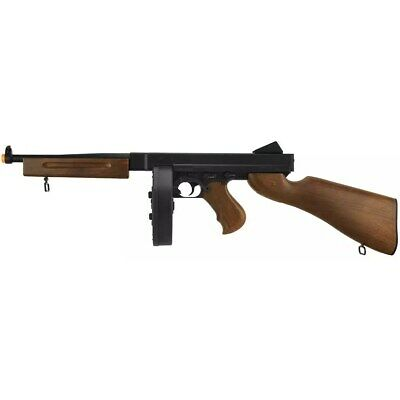 $99.95 • Buy 300 FPS THOMPSON M1A1 ELECTRIC WWII AIRSOFT AEG MACHINE GUN Tommy Rifle + 6mm BB