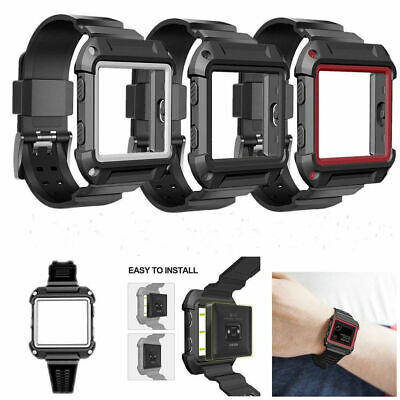 $ CDN10.50 • Buy For Fitbit Blaze Watch Band Silicone Wrist Strap WristBand Bracelet Replacement
