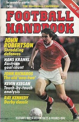 £2.99 • Buy The Marshall Cavendish Football Handbook ~ Part 37 ~ Walsall /wolves / Forest