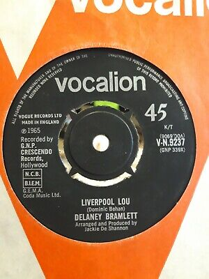 Delaney Bramlett - Liverpool Lou. Very Rare Uk Vocalion 1965 Nm!! • 34.99£