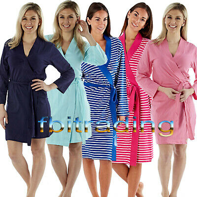 £14.95 • Buy WOMENS LADIES DRESSING GOWN LIGHTWEIGHT Summer  HOLIDAY HOSPITAL ROBE