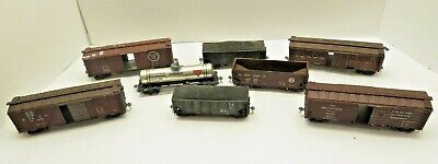 $ CDN74.05 • Buy Ho Trains Lot Of 8 Vintage Wooden, Plastic And Tin Cars