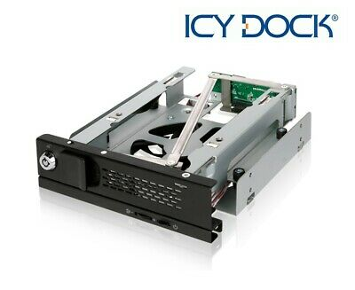 New ICY Dock MB171SP-B TurboSwap Tray-Less 3.5  SATA SSD HDD Mobile Rack • 51.99£