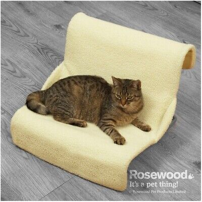 £7.99 • Buy  ROSEWOOD Faux Sheepskin 2 In 1 Radiator Bed And Floor Standing Cat Bed - NQP*