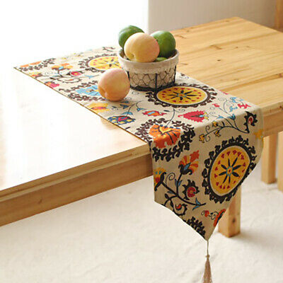 AU20.22 • Buy Home Table Runner Pastoral Bohemia Dining Room Party Bed Decor Tablecloth Cover