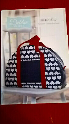 Debbie Shore Trixie Bag Sewing Patterns And Instruction Book • 2.99£