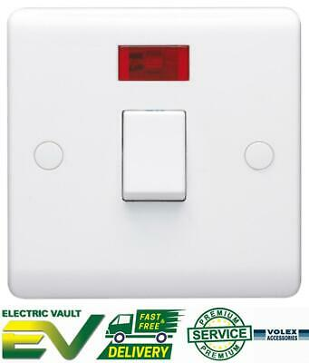 £5.20 • Buy Volex 20A Double Pole White Switch With Neon