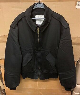 £99.99 • Buy Genuine Us Alpha Industries Jacket Air Force Security Made In Usa Black Xx-large