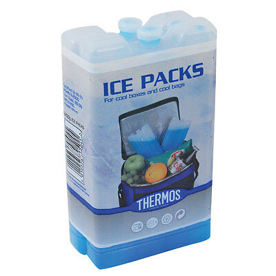 2 Ice Packs For Cool Boxes & Cool Bags 2 X 200g Blocks Cool Blocks Thermos  • 4.50£