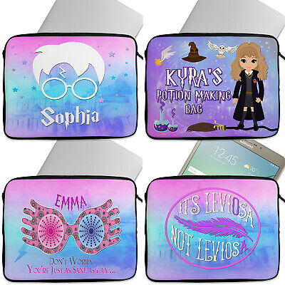 Personalised HARRY Tablet Laptop Cover Sleeve Universal Case Neoprene Wizard Kid • 12.95£
