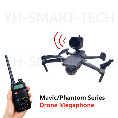 AU374 • Buy DJI Mavic Pro 2 And Phantom 3 4 Series Drone Wireless Megaphone Speaker
