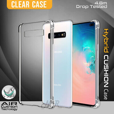 AU8.99 • Buy For Samsung Galaxy S8 S9 S10 S21 S20 Note 9 10 Plus Clear Case Heavy Duty Cover
