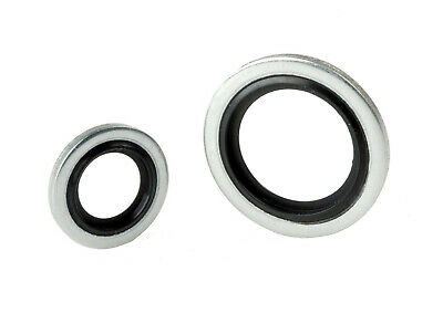 £3.24 • Buy Dowty Washer/Bonded Seals Metric/Imperial Nitrile/Viton Mild/Stainless Steel BSP